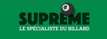 achat de billard sur supreme.fr