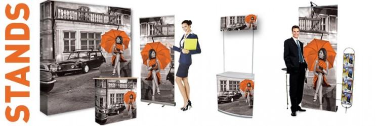 Impression roll-up vous propose une large gamme de stands d'exposition de qualité