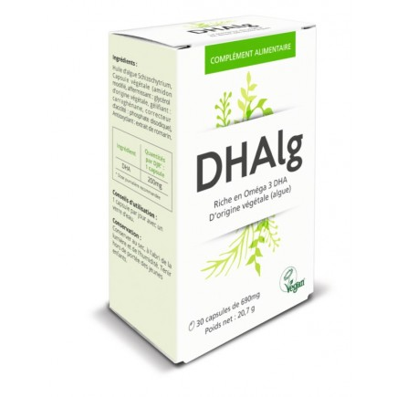 DHAlg : l'alternative à l'huile de poisson