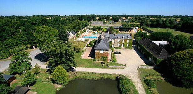 La vie de château dans un camping en Bretagne