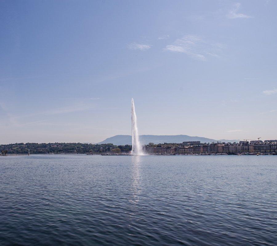 Votre photographe Genève de Lakeprod peut intégrer les beautés de la ville dans vos visuels…