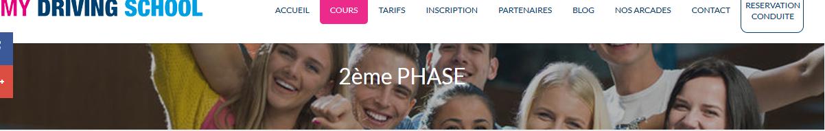 Suivez facilement vos cours 2 phases à Genève, auprès de My driving school