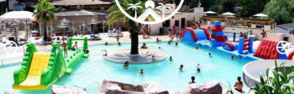 Site Gorge-vent : camping à Fréjus avec piscine, spa…